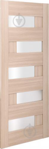 Дверне полотно ПВХ ОМіС Доміно ПО 800 мм дуб лате - фото 2