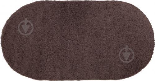 Килим Ozkaplan Karpet Gold Shaggy темно-бежевий О 2x2,9 м - фото 1