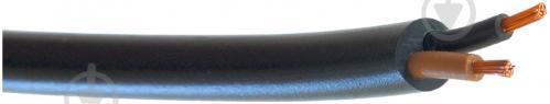 Провод многожильный  Елкор ПВС 2x0,75 черный