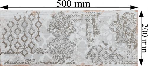 Плитка Атем Grunge 1 Pattern GR 20x50 - фото 5