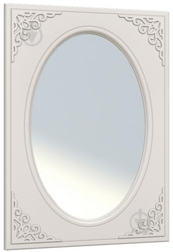 Зеркало настенное Санти Мебель Белль АС-08 800x1200 мм белое дерево - фото 1