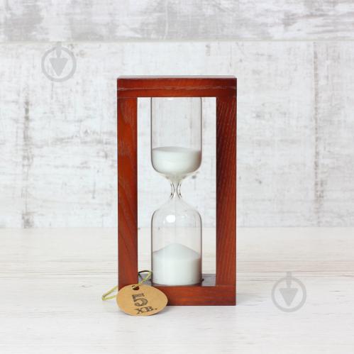 ᐉ Годинник пісочний 4-30 5 хв вишня білий 300597 Склоприлад • Краща ... d8cafd3c47a6e