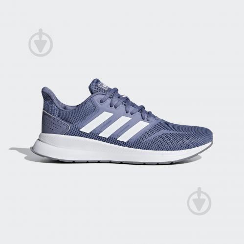 6e67a5c8 ᐉ Кроссовки Adidas RUNFALCON F36217 р.6 синий • Купить в Киеве ...