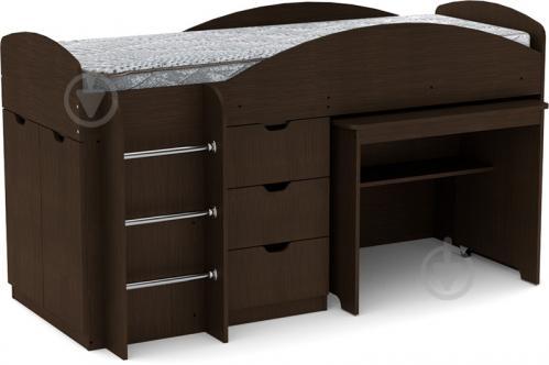 Кровать-горка Компанит Универсал 70х190 см венге