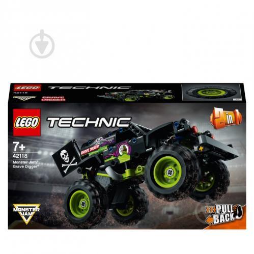 Конструктор LEGO Technic Monster Jam® Grave Digger® 42118 - фото 1