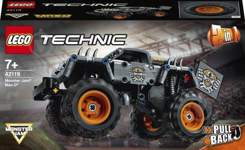 Конструктор LEGO Technic Monster Jam Max-D 42119 - фото 1