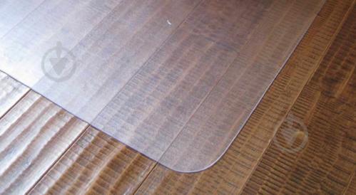 Підкладка під стілець King Floor прозорий 1200*900*0,8 мм - фото 1