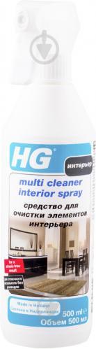 Засіб HG Multi Cleaner для чищення елементів інтер'єру 0,5 л - фото 1