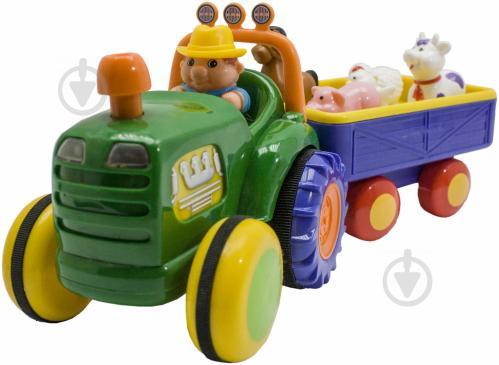 Трактор Kiddieland с прицепом 49726