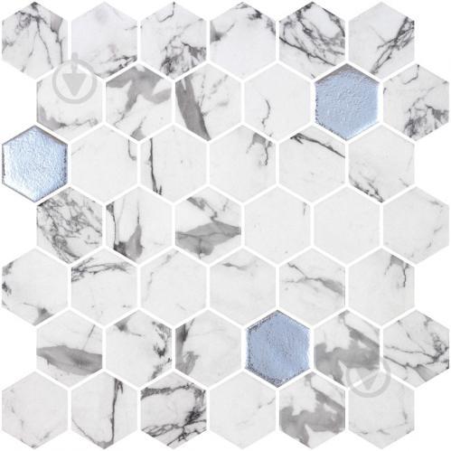Плитка Onix Hex XL Fosco Argent (BLISTER) 28,6x28,4 - фото 1