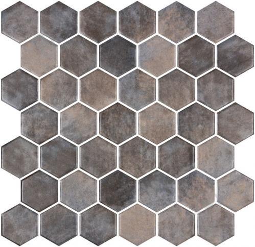 Плитка Onix Hex XL Denim Copper (BLISTER) 28,6x28,4 - фото 1
