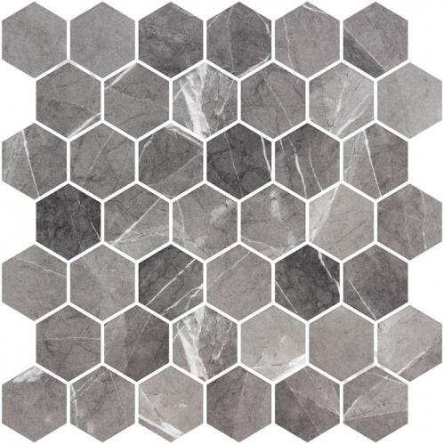 Плитка Onix Hex XL Grafito Matte (BLISTER) 28,6x28,4 - фото 1