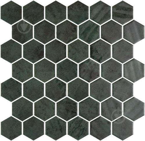 Плитка Onix Hex XL Zelik Green (BLISTER) 28,6x28,4 - фото 1