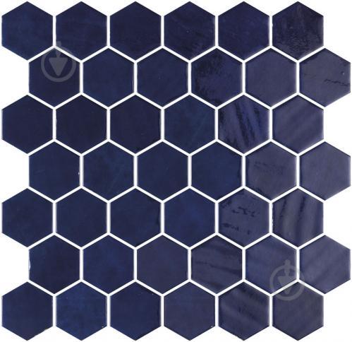 Плитка Onix Hex XL Zelik Blue (BLISTER) 28,6x28,4 - фото 1