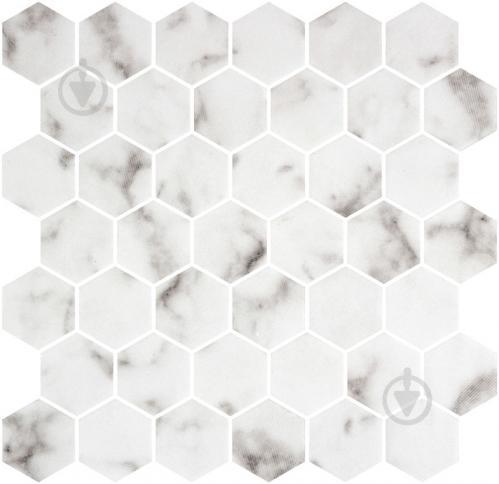 Плитка Onix Hex XL Macael Textured (BLISTER) 28,6x28,4 - фото 1