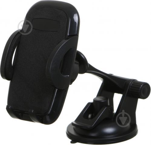 Тримач автомобільний універсальний Lavita LA HU0362 чорний - фото 1