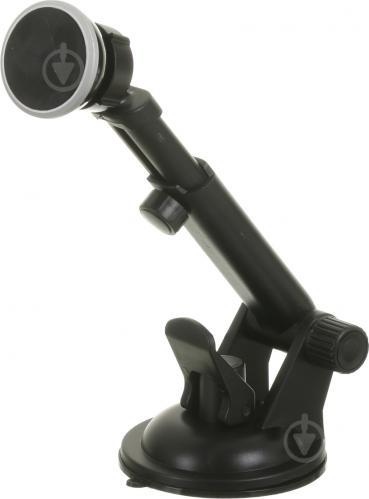Тримач для телефона автомобільний універсальний магнітний Lavita LA HU0363 чорний - фото 1