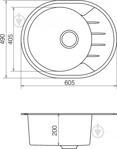 Мойка для кухни Water House Modus MMO 02.62 black - фото 4