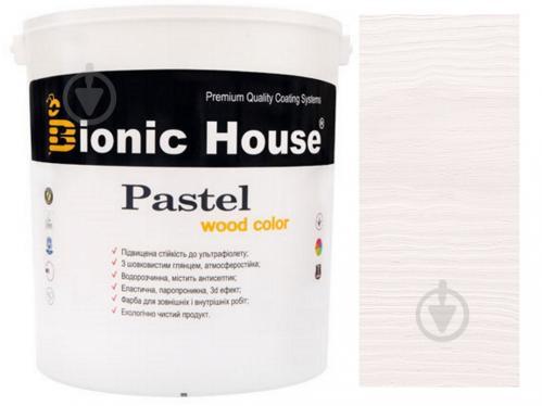 Краска Bionic House укрывная Pastel Wood Color Р201 арктик шелковистый глянец 2,5 л - фото 1