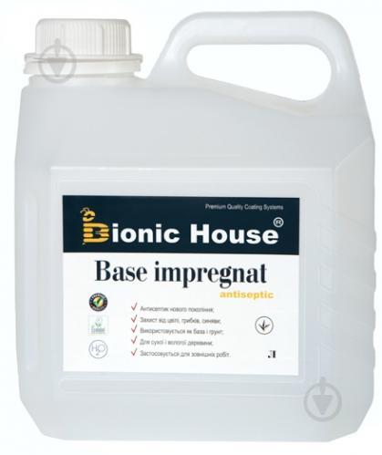 Грунтовка Bionic House антисептик Base-Impregnat 5 л - фото 1