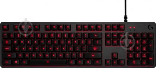 Клавіатура ігрова Logitech G413 Mechanical Gaming Keyboard (920-008309) black - фото 1
