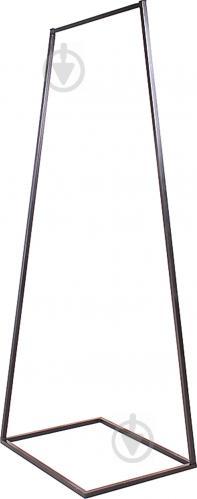Вешалка для одежды Метал Арт 80368017 Дуос-600 черный - фото 1