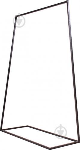 Вешалка для одежды Метал Арт 80368018 Дуос-1000 черный - фото 1