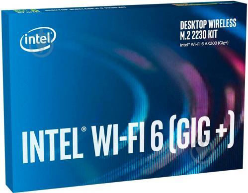 Wi-Fi-адаптер Intel AX200 (AX200.NGWG.DTK 999VGD) - фото 1