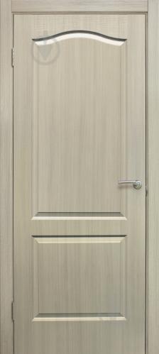 Дверне полотно ОМіС Класика ПГ 600 мм дуб вибілений