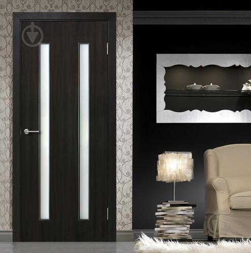Дверне полотно ОМіС Вероніка ПО 800 мм венге - фото 2