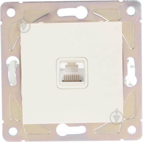 Розетка комп'ютерна HausMark Alta кремовий SNG-SCP.SQ20MG1PC-CR - фото 1