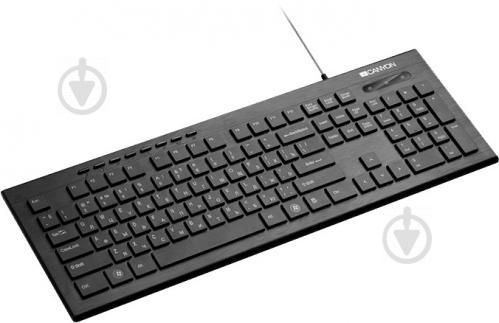 Клавіатура Canyon (CNS-HKB2-RU) black - фото 1