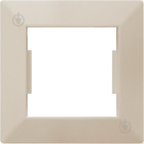 Рамка HausMark Alta универсальная кремовый SNG-FRP.SQ20G1-CR - фото 1