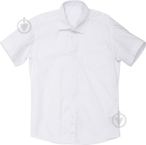 Рубашка детская DaNa-kids короткий рукав р.152 белый РКР-1 - фото 1