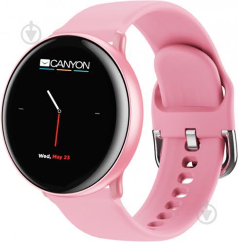 Смарт-часы Canyon Marzipan pink (CNS-SW75PP) - фото 1