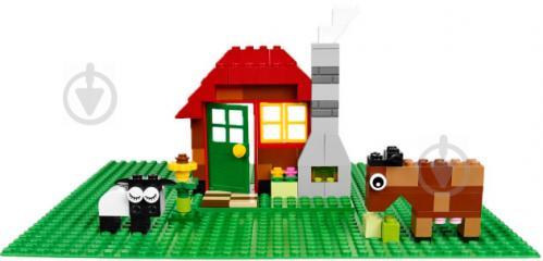 Пластина базова зелена 10700 Classic LEGO - фото 5