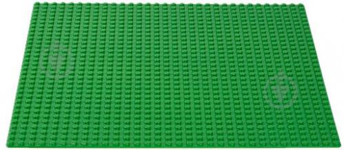 Пластина базова зелена 10700 Classic LEGO - фото 3
