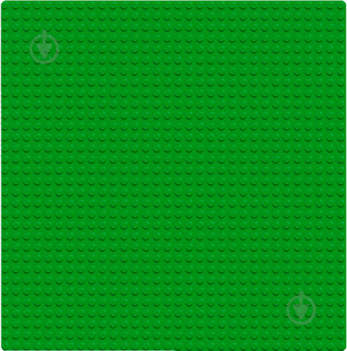 Пластина базова зелена 10700 Classic LEGO - фото 2