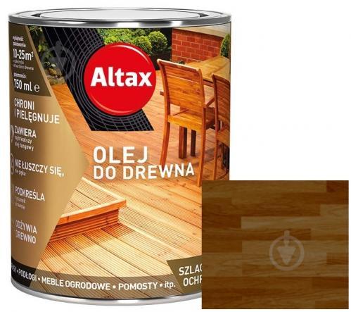 Масло для древесины Altax тик полумат 0,75 л - фото 1