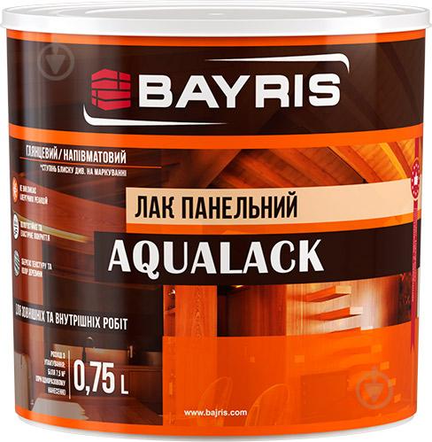Лак панельний Aqualack Bayris глянець 0,75 л - фото 1