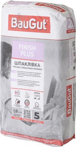 Шпаклевка BauGut Finish Plus 5 кг - фото 1