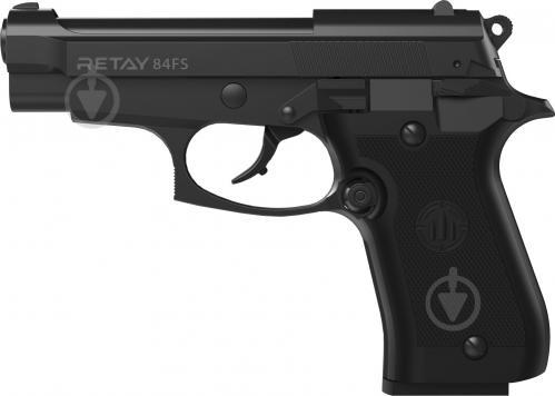 Оружие сигнально-шумовое Retay 84FS black - фото 1