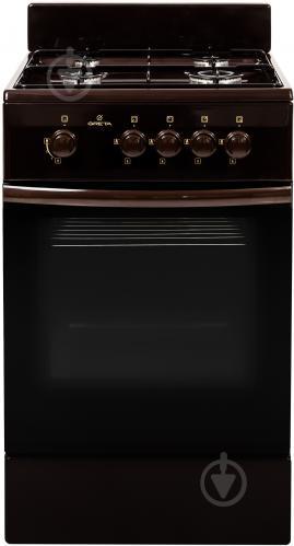 Плита газова Greta GG 5770 MF 13 (B) (1470-00-17АА коричнева) - фото 1