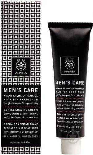 Крем для гоління Apivita Men's care 100 мл - фото 1