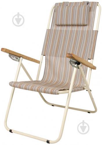 Кресло раскладное Vitan Ясень 96x58,5x102 см бежевый - фото 1