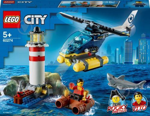 Конструктор LEGO City Елітний поліцейський загін: арешт на маяку 60274 - фото 1