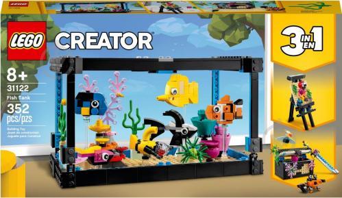 Конструктор LEGO Creator 3-в-1 Акваріум 31122 - фото 1