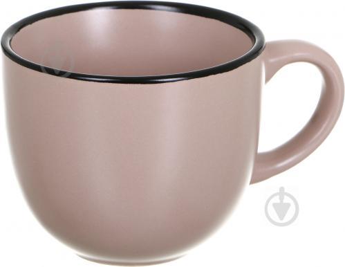 fc8f8e57308e6 Чашка с блюдцем Matte 240 мл бежевая, цена 62,33 грн., купить ...