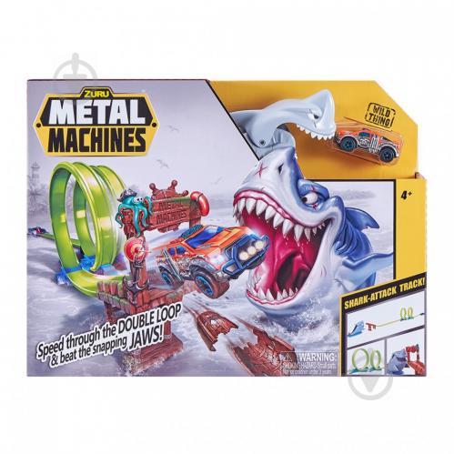 Гоночный трек Zuru Metal Machines Shark 6760 - фото 1