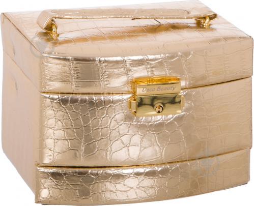 Шкатулка для украшений 2781 золотая